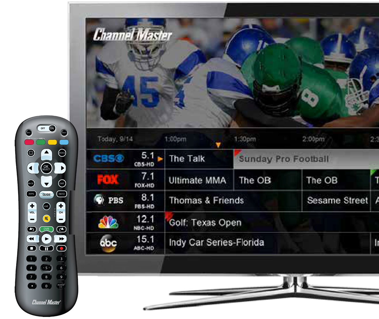 DVR+ Guide Features