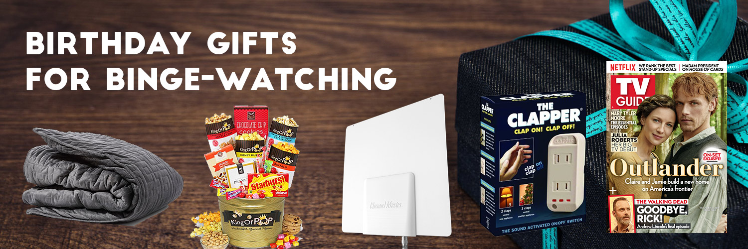 Top Birthday Gifts For Binge-Watching