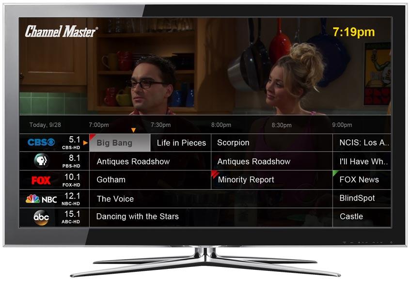 DVR+ Full Onscreen Programming Guide